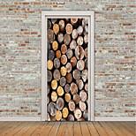 Недорогие -Натюрморт 3D Наклейки Простые наклейки 3D наклейки Декоративные наклейки на стены Фото наклейки Напольные наклейки Дверные наклейки, Винил