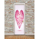 cheap -Shapes Hearts Wall Stickers Plane Wall Stickers 3D Wall Stickers Decorative Wall Stickers Floor Stickers, Vinyl Home Decoration Wall Decal