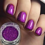 cheap -1pcs Acrylic Powder Nail Glitter Glitter Powder Elegant & Luxurious Sparkle & Shine Nail Art Tips