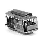Недорогие -3D пазлы Металлические пазлы Креатив Фокусная игрушка Ручная работа Металл Транспорт Подставка Игрушки Девочки Мальчики Подарок