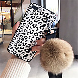 cheap -Case For Apple iPhone X iPhone 7 Plus Pattern Back Cover Leopard Print Soft Silicone for iPhone X iPhone 8 Plus iPhone 8 iPhone 7 Plus