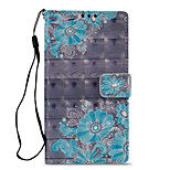 cheap -Case For Sony Xperia L2 Xperia XZ2 Card Holder Wallet with Stand Flip Pattern Full Body Cases Flower Hard PU Leather for Xperia XA2