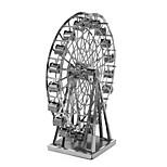 Недорогие -3D пазлы Металлические пазлы Креатив Фокусная игрушка Ручная работа Металл Архитектура Подставка Игрушки Подарок