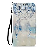 cheap -Case For Motorola MOTO Z2 play Card Holder Wallet with Stand Flip Magnetic Full Body Cases Dream Catcher Hard PU Leather for Moto Z2 play