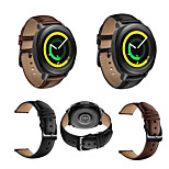 cheap -Watch Band for Gear Sport Gear S2 Classic Huawei Watch 2 Samsung Galaxy Classic Buckle Genuine Leather Wrist Strap
