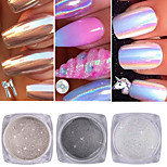 cheap -3 Nail Glitter Glitter Powder Powder Sparkle & Shine Nail Art Tips Nail Art Design