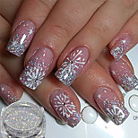 cheap -1pcs Glitter Powder Elegant & Luxurious Glitter & Sparkle Nail Art Tips