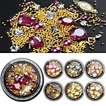 cheap -1 Nail Jewelry Fashionable Jewelry Sparkle Crystal Cute Glow Daily Nail Art Design