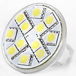 cheap -SENCART 1pc 5W 160 lm MR11 LED Bi-pin Lights MR11 12 leds SMD 5060 Decorative Warm White White 12V