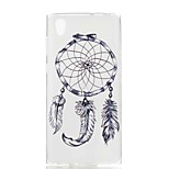 cheap -Case For Sony Xperia XA Xperia L1 Pattern Back Cover Dream Catcher Soft TPU for Xperia XZ1 Compact Sony Xperia XZ1 Sony Xperia XA1 Sony