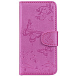 cheap -Case For Nokia Nokia 8 Nokia 5 Card Holder Wallet with Stand Pattern Embossed Full Body Cases Butterfly Hard PU Leather for Nokia 8 Nokia