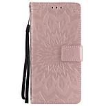Недорогие -Кейс для Назначение Huawei P8 Lite (2017) P10 Plus Бумажник для карт Кошелек со стендом Флип С узором Чехол Мандала Твердый Кожа PU для