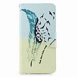 cheap -Case For Huawei Mate 10 lite Mate 10 Card Holder Wallet with Stand Flip Pattern Full Body Cases Feathers Hard PU Leather for Mate 10