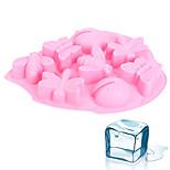 Недорогие -1шт Для торта Cupcake Силикон Heatproof Творческая кухня Гаджет Формы для пирожных
