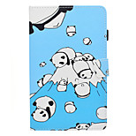 cheap -Case For Amazon Kindle Fire hd 7.0 Card Holder Shockproof with Stand Flip Full Body Cases Panda Hard PU Leather for Kindle Fire hd 7.0
