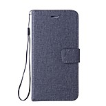 cheap -Case For LG G6 Card Holder Wallet with Stand Flip Full Body Cases Solid Colored Hard PU Leather for LG Nexus 5X LG G6 LG G5