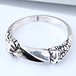 cheap -Men's Skull Band Ring - Vintage / Fashion / European Silver Ring For Daily
