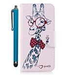 preiswerte -Hülle Für Huawei Mate 10 Lite Mate 10 Kreditkartenfächer Geldbeutel mit Halterung Flipbare Hülle Magnetisch Ganzkörper-Gehäuse Tier Hart