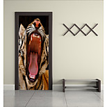 cheap -Animals Wall Stickers Plane Wall Stickers 3D Wall Stickers Decorative Wall Stickers Floor Stickers, Vinyl Home Decoration Wall Decal
