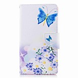 cheap -Case For Sony Xperia L2 Xperia XA2 Ultra Card Holder Wallet with Stand Flip Pattern Full Body Cases Butterfly Hard PU Leather for Xperia