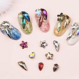 cheap -10 Nail Jewelry Artistic/Retro Luxury Casual/Daily Nail Art Design