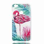 cheap -Case For Xiaomi Redmi Note 5A Redmi Note 4X Pattern Back Cover Flamingo Soft TPU for Xiaomi Redmi Note 5A Xiaomi Redmi Note 4X Xiaomi