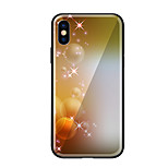 cheap -Case For Apple iPhone X iPhone 8 Pattern Back Cover City View Hard Tempered Glass for iPhone X iPhone 8 Plus iPhone 8 iPhone 7 iPhone 6s