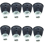 cheap -8pcs 4.5W 600 lm MR16 LED Spotlight 1 leds COB Warm White Cold White DC 12V