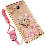 cheap -Case For Huawei Mate 8 Shockproof Rhinestone with Stand Back Cover Cartoon Soft Silicone for Huawei Mate 8