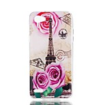 economico -Custodia Per LG V30 Q6 Fantasia/disegno Per retro Torre Eiffel Morbido TPU per LG X Style LG X Power LG V30 LG Q6 LG K10 LG K8