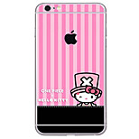 cheap -1 pc Skin Sticker for Scratch Proof Pattern PVC iPhone 6s Plus/6 Plus