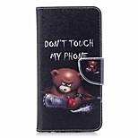 Недорогие -Кейс для Назначение Huawei Mate 10 lite Mate 10 Бумажник для карт Кошелек со стендом Флип С узором Чехол Слова / выражения Твердый Кожа PU