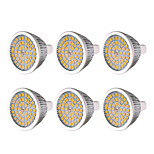 abordables -YWXLIGHT® 6pcs 7W 600-700 lm MR16 GU5.3 Spot LED 48 diodes électroluminescentes SMD 2835 Blanc Chaud Blanc Froid Blanc Naturel DC 12V