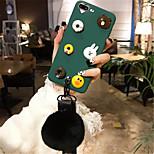 abordables -Funda Para Apple iPhone 6 Plus iPhone 7 Plus Diseños Funda Trasera Dibujo 3D Suave Silicona para iPhone 8 Plus iPhone 8 iPhone 7 Plus