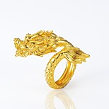 cheap -Men's Gold Plated Dragon Statement Ring - Animals / Statement Gold Ring For Halloween / Carnival