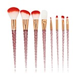 cheap -8pcs Makeup Brush Set Synthetic Hair Nylon Full Coverage ABS Face Full Coverage
