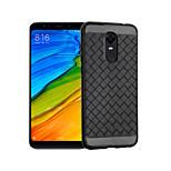 preiswerte -Hülle Für Xiaomi Redmi 5 Plus Stoßresistent Rückseite Volltonfarbe Weich TPU für Xiaomi Redmi 5 Plus