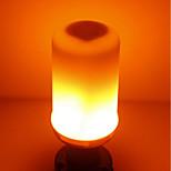 abordables -SENCART 1pc 5W 700 lm E14 GU10 E26/E27 B22 Bombillas LED de Mazorca T 96 leds SMD 2835 Llama parpadeante Blanco Cálido 85-265V