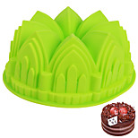 cheap -1pc House Shaped Cake For Bread Silica Gel Baking Tool Cake Molds