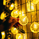 cheap -10 LEDs 1.5M String Light Warm White Decorative AA Batteries Powered
