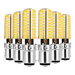 preiswerte -YWXLIGHT® 6pcs 7W 600-700 lm E14 G9 G4 BA15D LED Doppel-Pin Leuchten T 80 Leds SMD 5730 Abblendbar Dekorativ Warmes Weiß Kühles Weiß