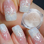 cheap -1pcs Acrylic Powder Nail Glitter Glitter Powder Elegant & Luxurious Sparkle & Shine Nail Art Design