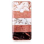 economico -Custodia Per Huawei P8 Lite (2017) P10 Lite IMD Fantasia/disegno Glitterato Per retro Effetto marmo Glitterato Morbido TPU per P10 Lite