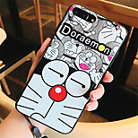 cheap -Case For Apple iPhone 6s iPhone 7 Plus Pattern Back Cover Cartoon Soft Silicone for iPhone 8 Plus iPhone 8 iPhone 7 Plus iPhone 7 iPhone