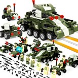 cheap -BEIQI Building Blocks 484pcs Stress and Anxiety Relief Parent-Child Interaction Decompression Toys Classic & Timeless Military Military