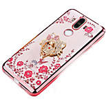 cheap -Case For Huawei Mate 9 Shockproof Rhinestone with Stand Back Cover Cartoon Soft Silicone for Mate 9
