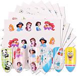 Недорогие -50 Наклейка для переноса воды Наклейка для ногтей Очаровательный Наклейки для ногтей Аксессуар Советы для ногтей Дизайн ногтей наборы