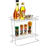 cheap -1pc Shaker & Mill Rack & Holder Bottles & Jars Plastic Creative Kitchen Gadget Storage Kitchen Organization