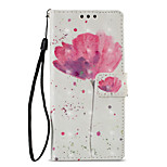 cheap -Case For Sony Xperia XZ1 Xperia XA1 Card Holder Wallet with Stand Flip Pattern Full Body Cases Flower Hard PU Leather for Sony Xperia XZ1