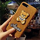 economico -Custodia Per Apple iPhone X iPhone 7 Plus Fantasia/disegno Per retro Cartoni animati Resistente PC per iPhone X iPhone 8 Plus iPhone 8